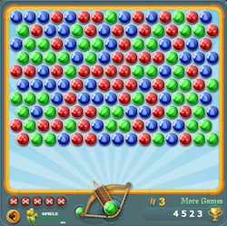 Bubble Shooter 3 un juego friv
