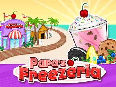 Papas Freezeria – Un juego de flash